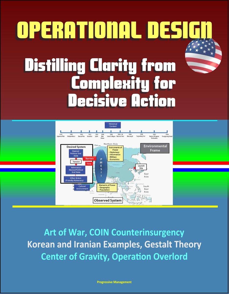 Operational Design: Distilling Clarity from Complexity for Decisive Action - Art of War, COIN Counterinsurgency, Korean and Iranian Examples, Gestalt Theory, Center of Gravity, Operation Over
