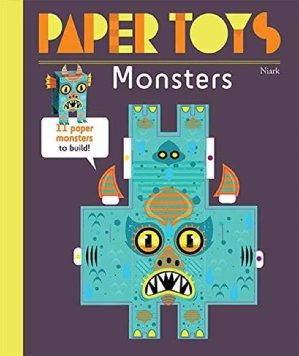 Paper Toys - Monsters