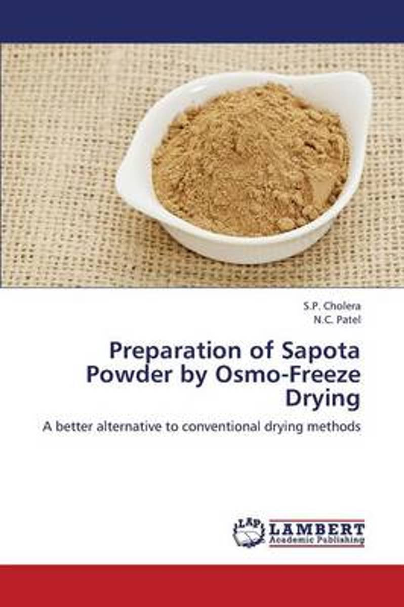 Preparation of Sapota Powder by Osmo-Freeze Drying