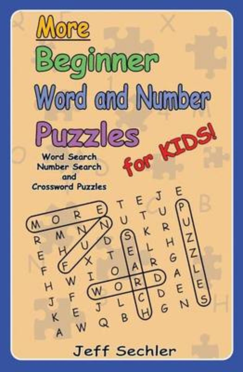 More Beginner Word and Number Puzzles for Kids
