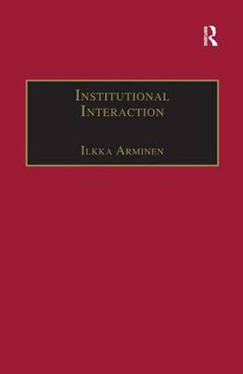 Institutional Interaction