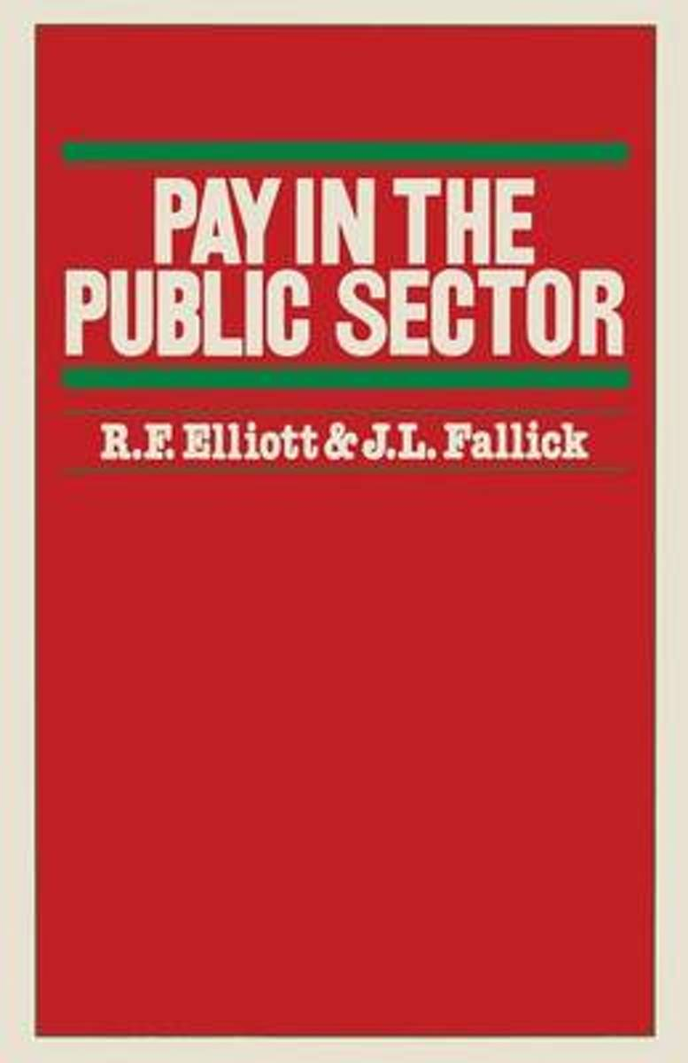 Pay in the Public Sector