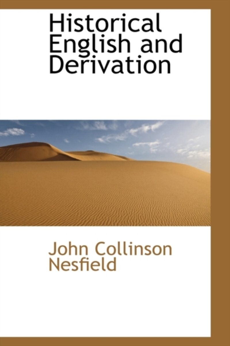 Historical English and Derivation