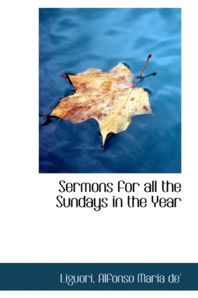Sermons for All the Sundays in the Year