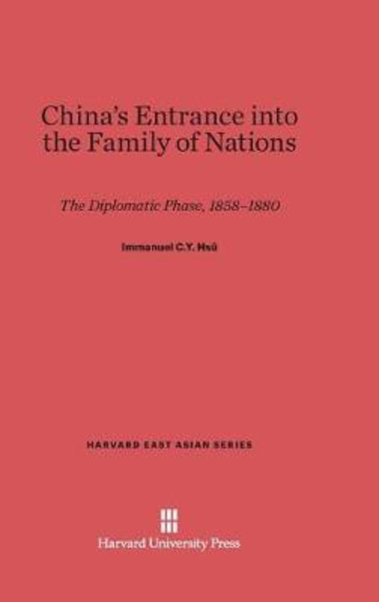 China's Entrance Into the Family of Nations
