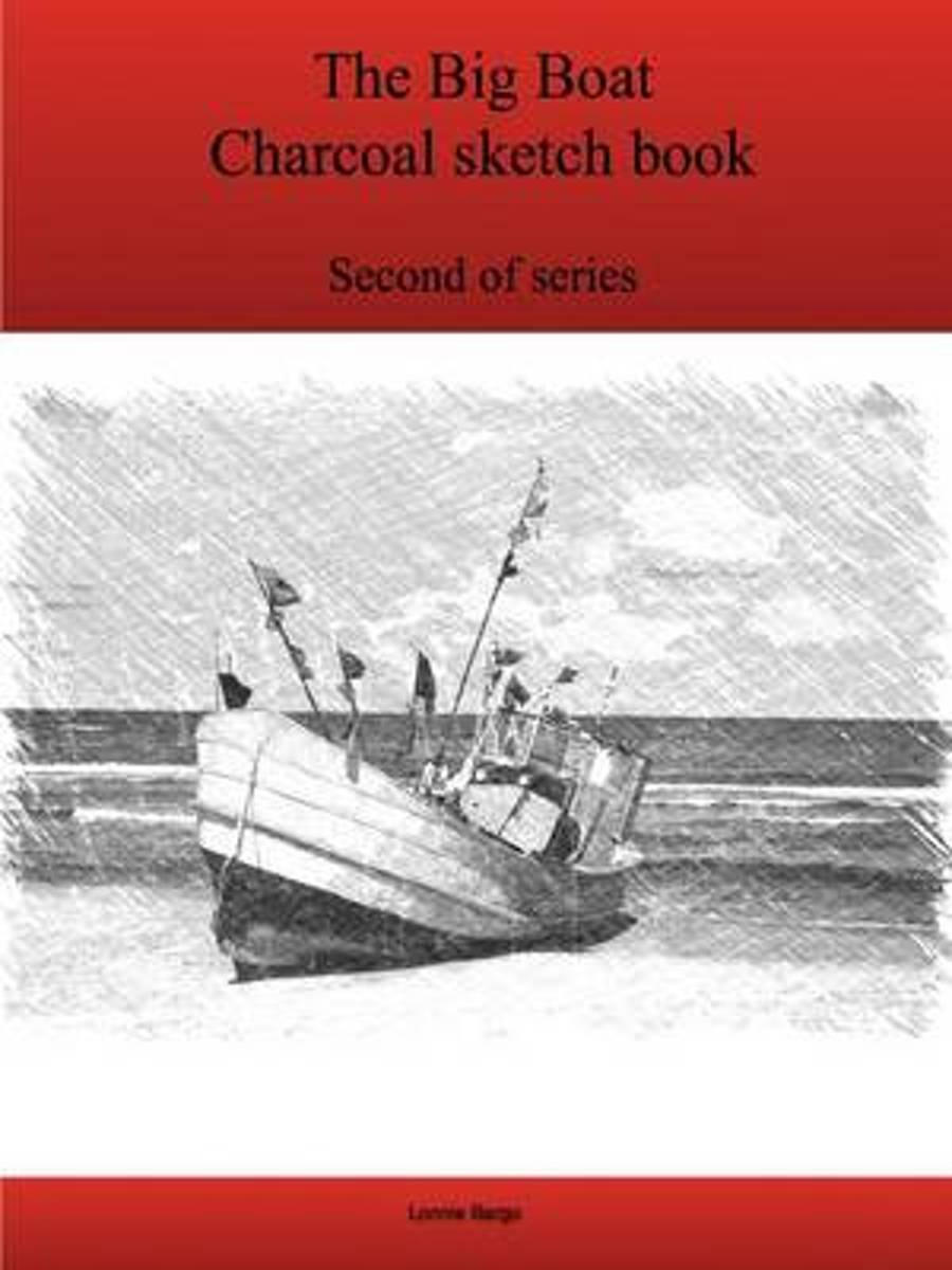 The Second Big Boat Charcoal Sketch Book Series