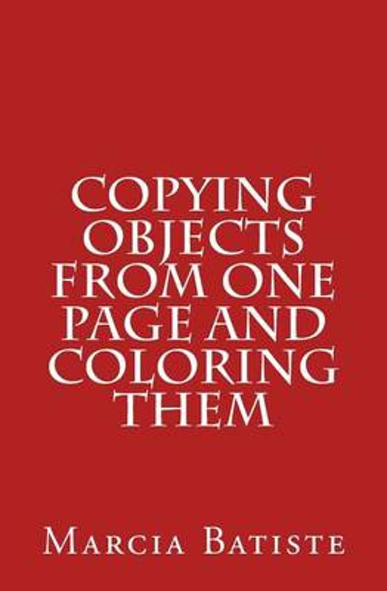 Copying Objects from One Page and Coloring Them