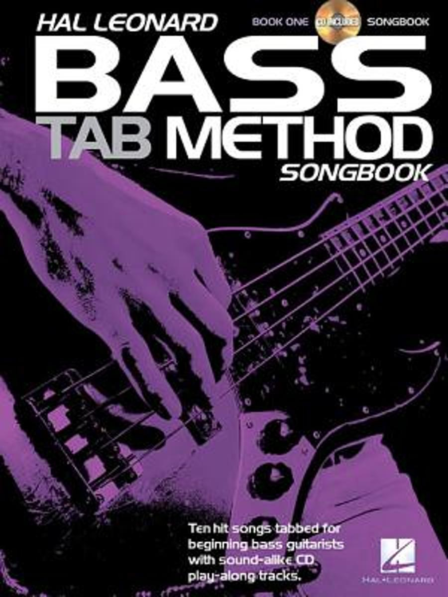 Hal Leonard Bass Tab Method Songbook 1 - Book/CD Set