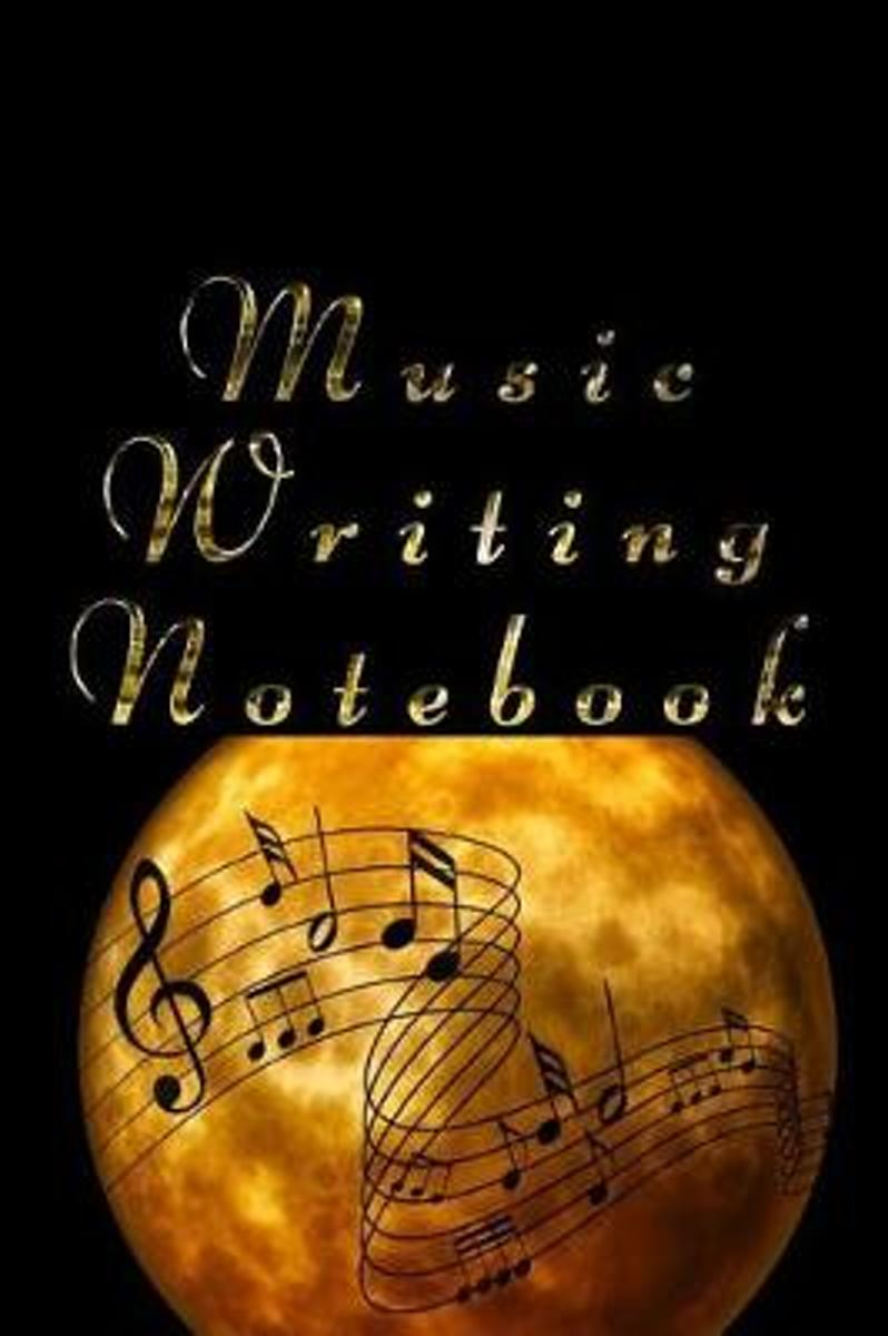 Music Writing Notebook