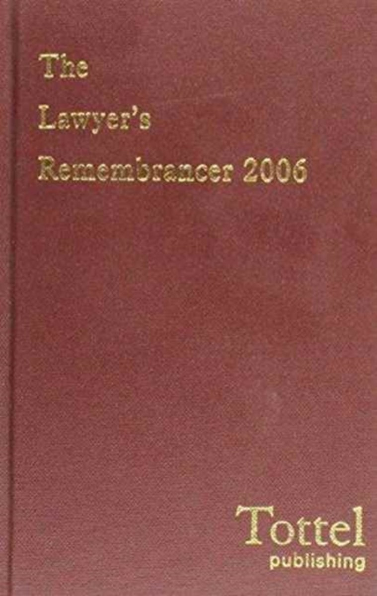 Lawyers' Remembrancer