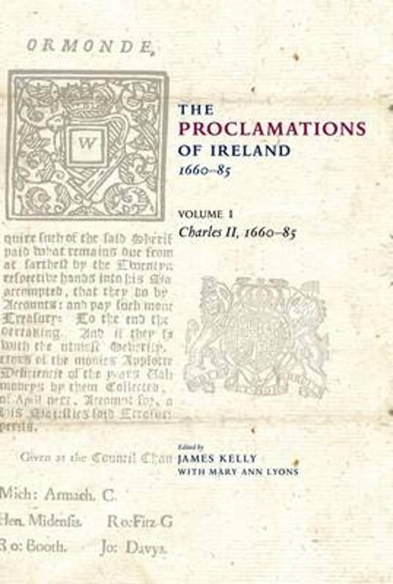 The Proclamations of Ireland, 1660-1820