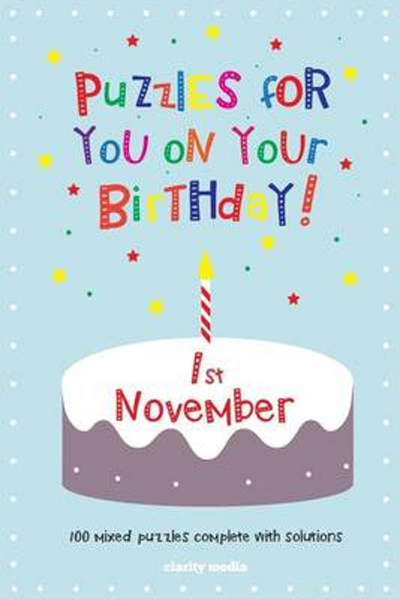 Puzzles for You on Your Birthday - 1st November