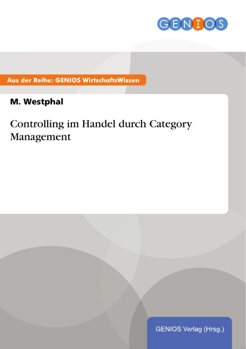 Controlling im Handel durch Category Management