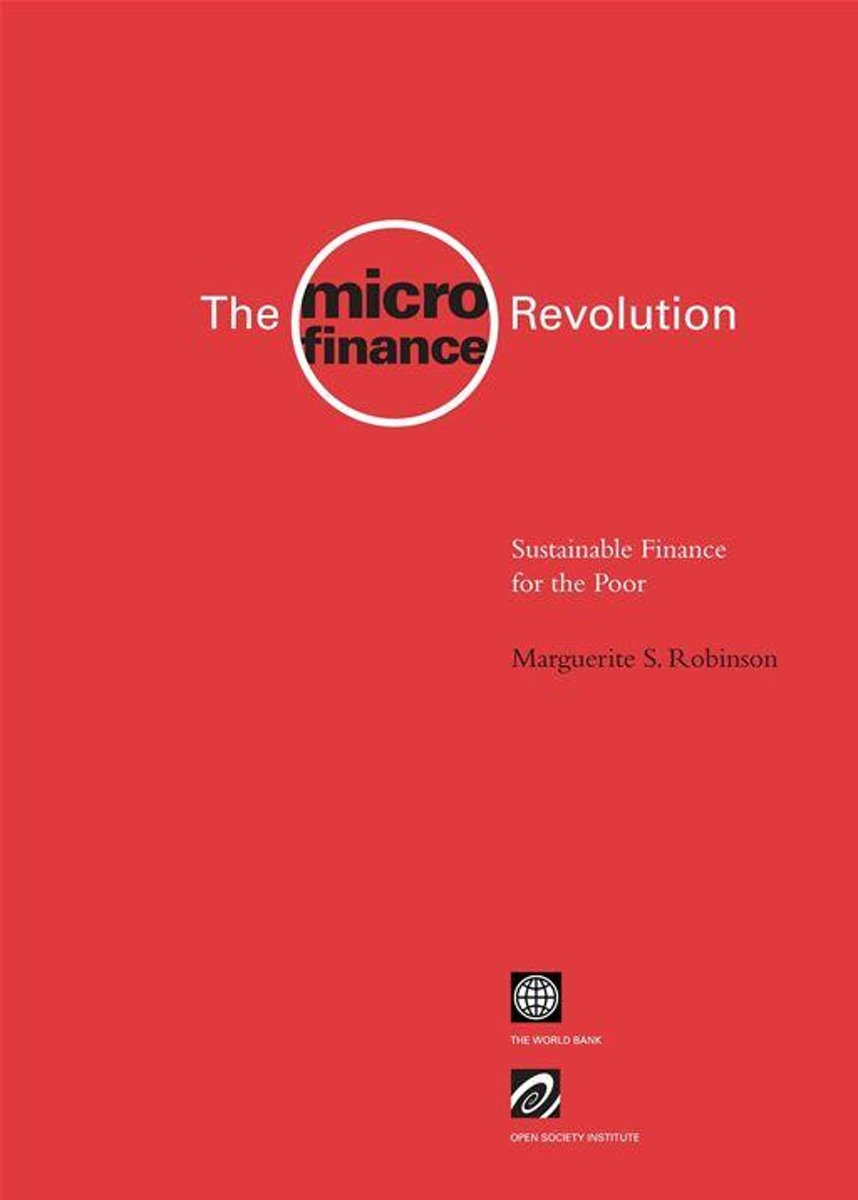 The Microfinance Revolution: Sustainable Finance For The Poor