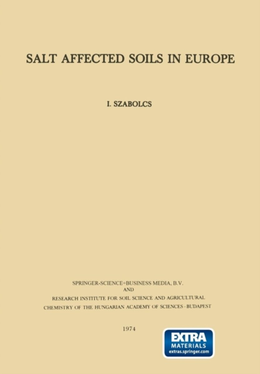 Salt Affected Soils in Europe
