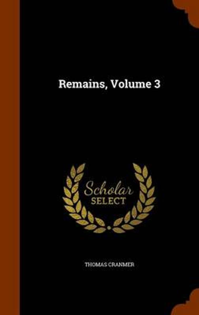 Remains, Volume 3