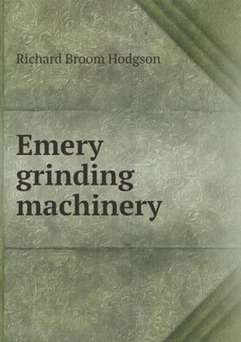 Emery Grinding Machinery