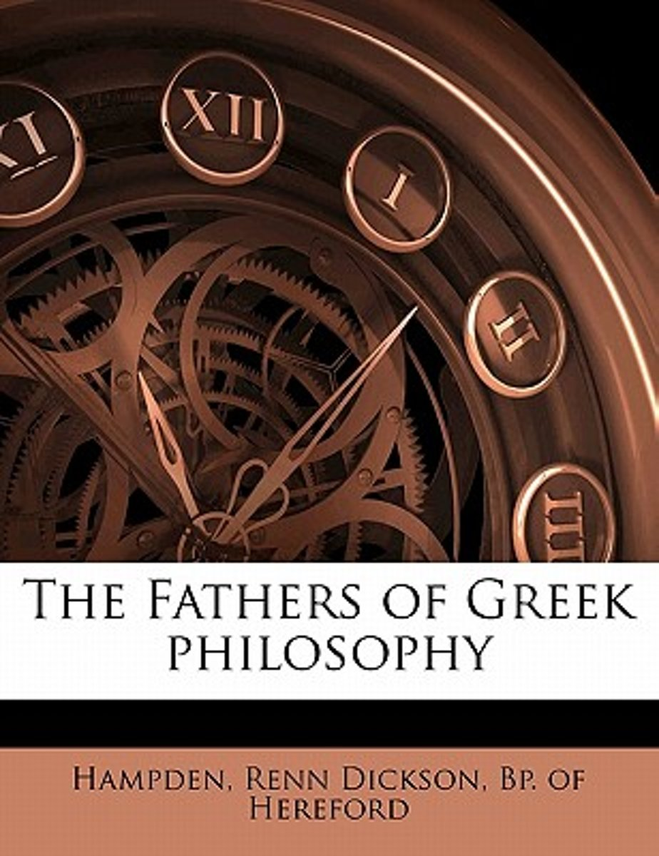 The Fathers of Greek Philosophy