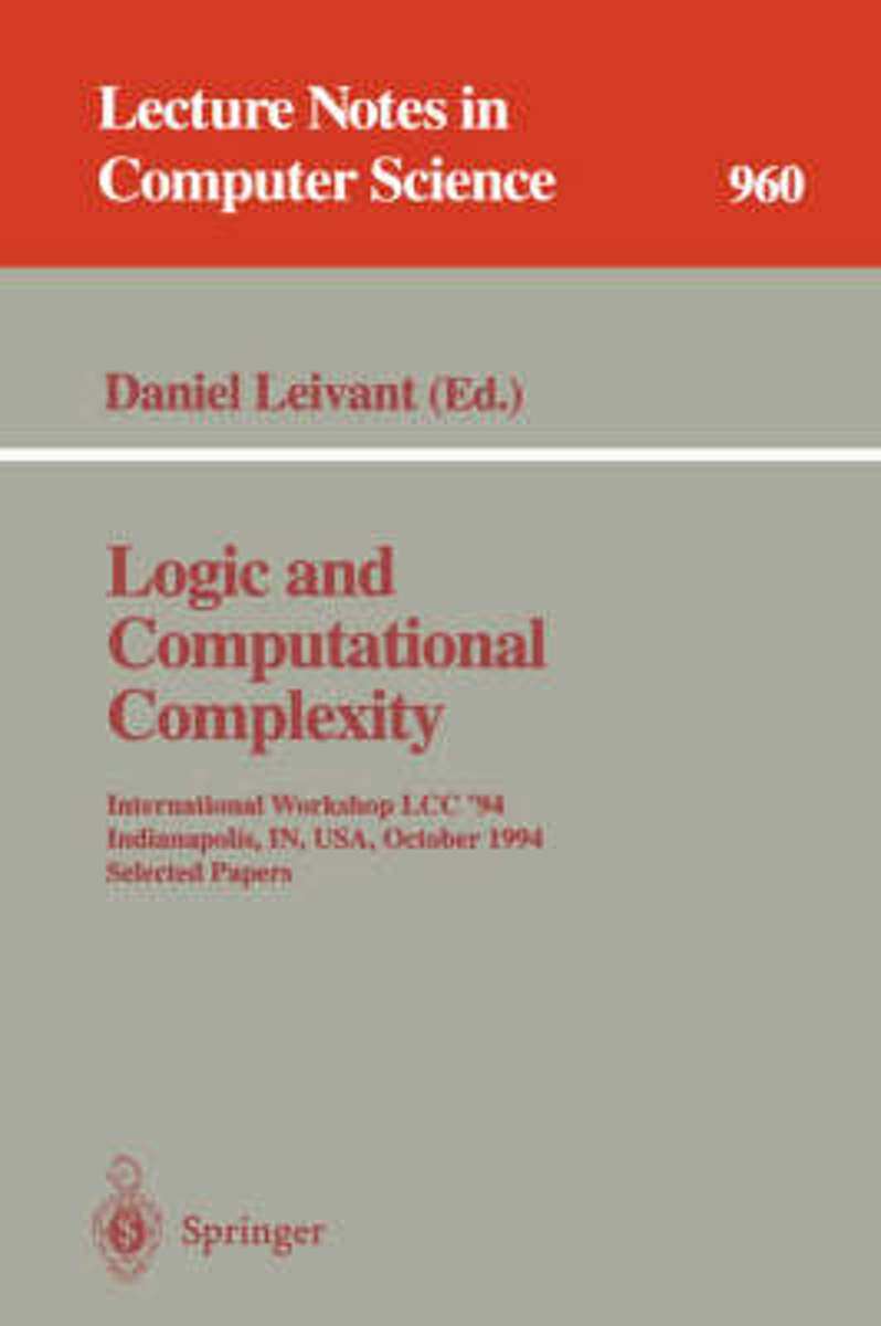 Logic and Computational Complexity
