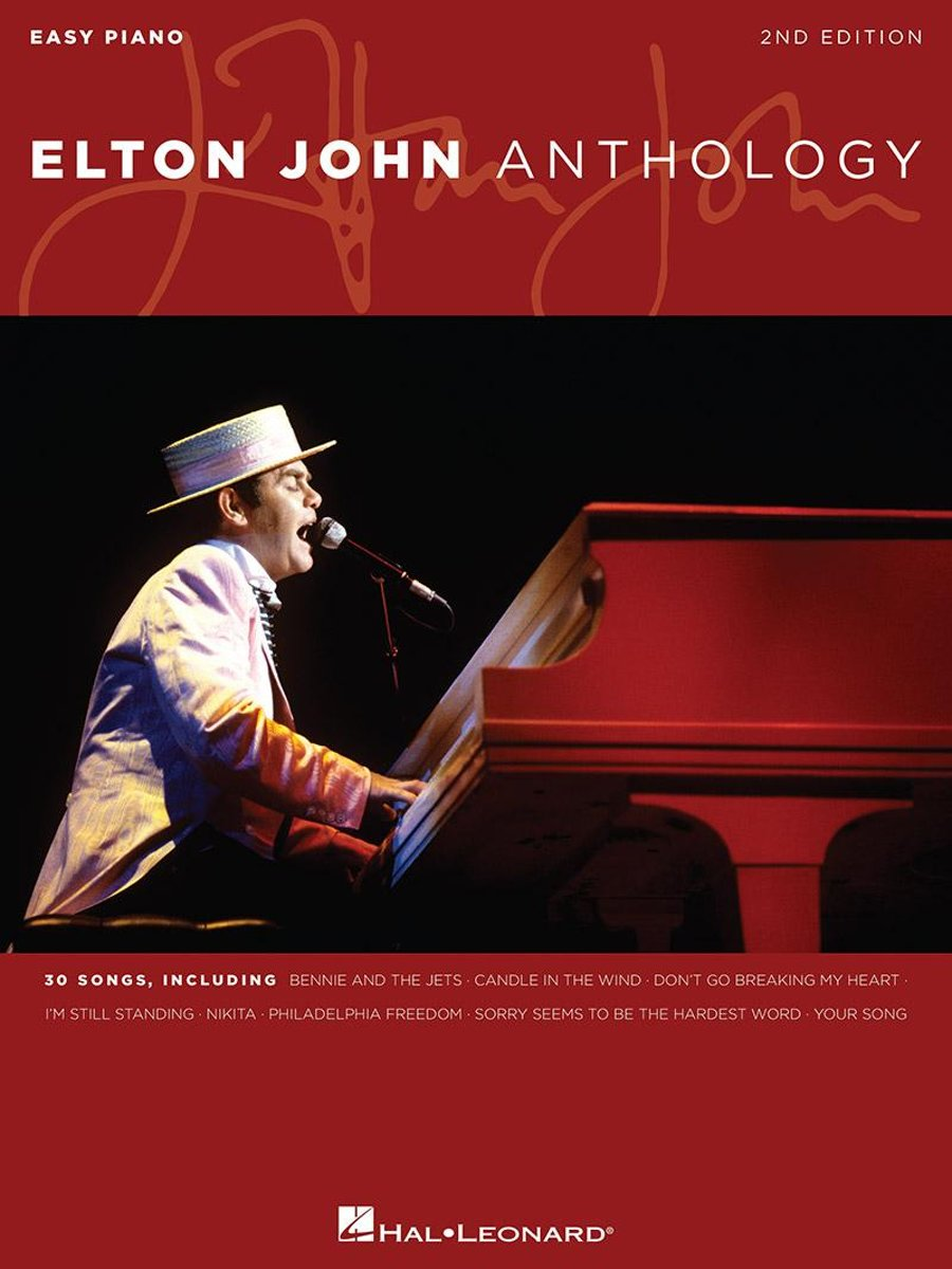 Elton John Anthology (Songbook)