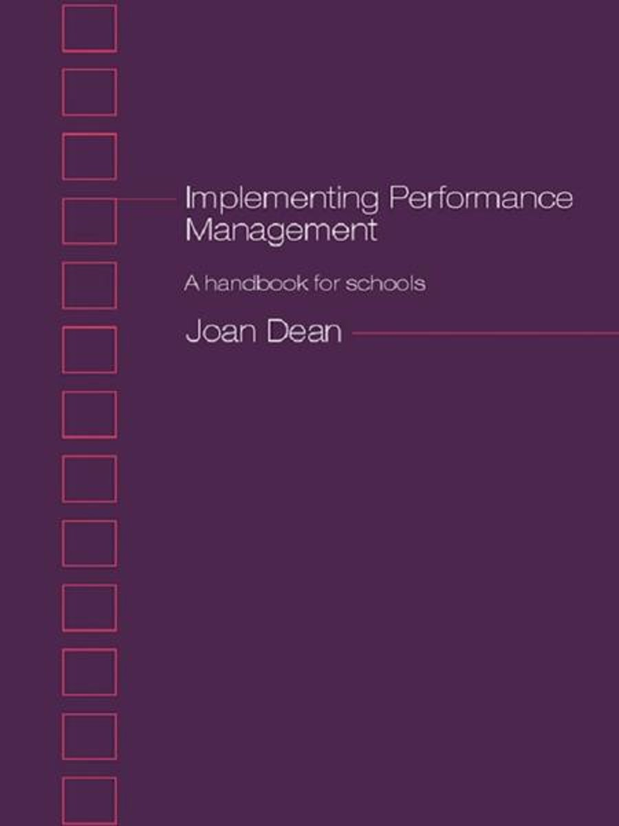 Implementing Performance Management