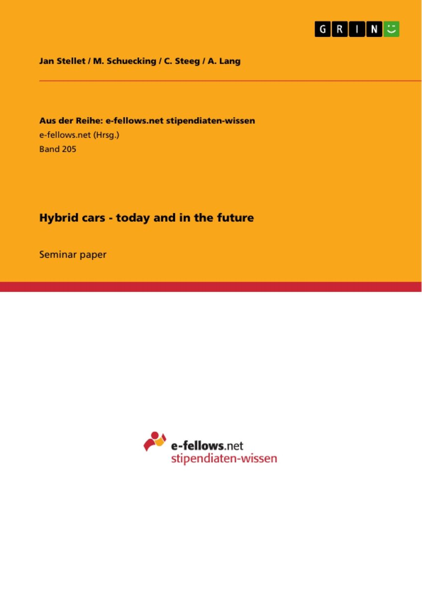 Hybrid cars - today and in the future