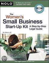 The Women's Small Business Start-Up Kit: A Step-By-Step Legal Guide [With Cdrom]