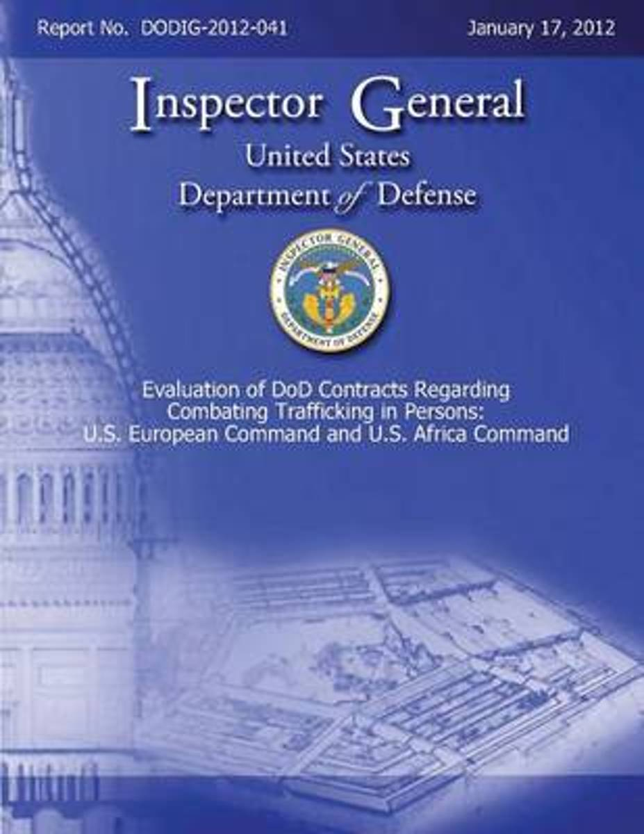 Evaluation of Dod Contracts Regarding Combating Trafficking in Persons