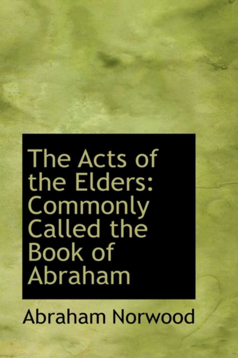 The Acts of the Elders