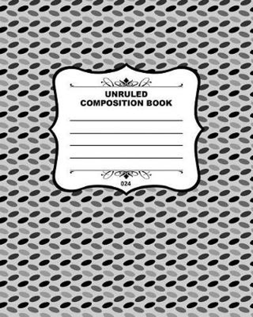 Unruled Composition Book 024
