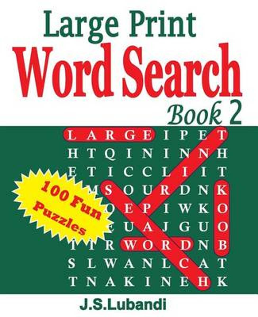 Large Print Word Search Book 2