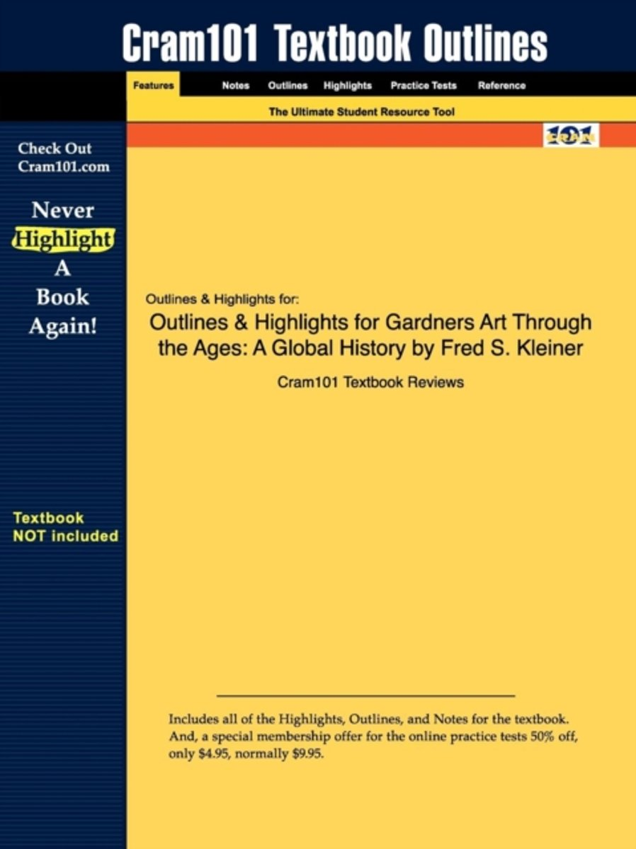 Outlines & Highlights for Gardners Art Through the Ages