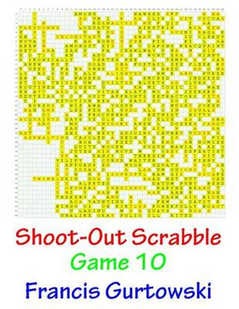 Shoot-Out Scrabble Game 10