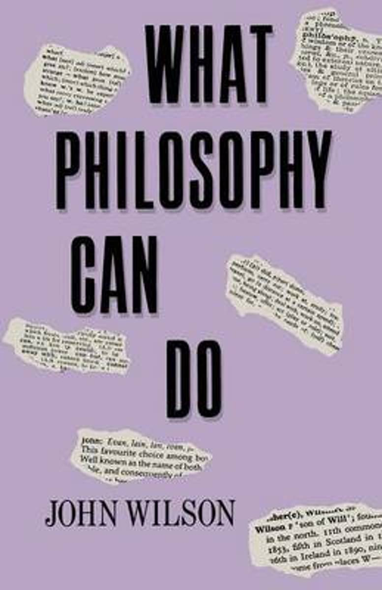 What Philosophy Can Do