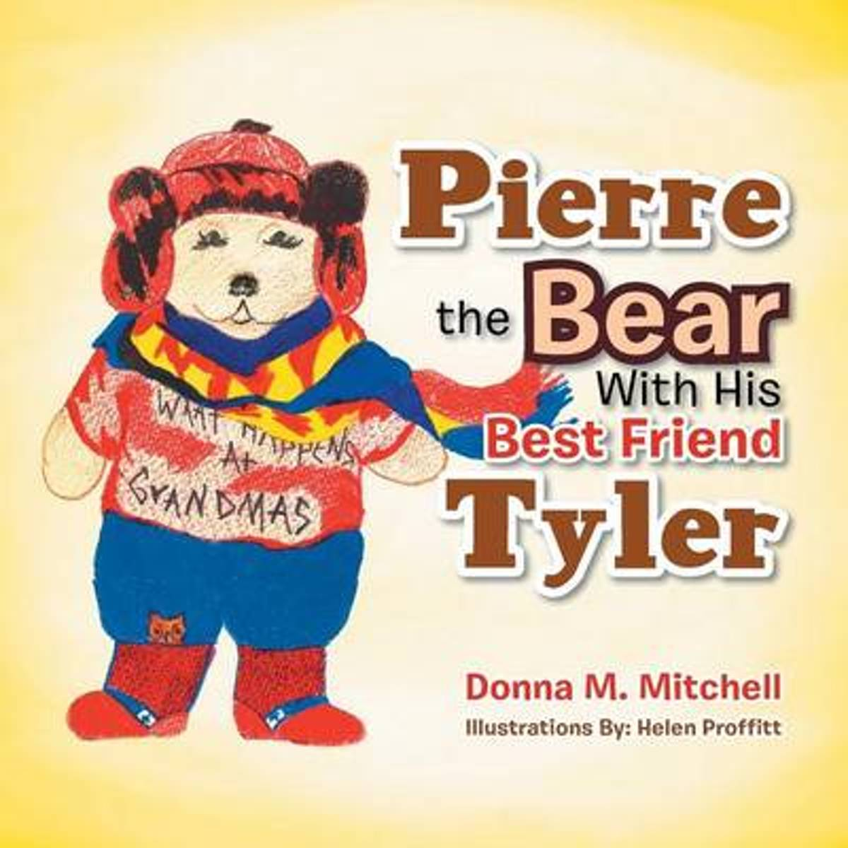 Pierre the Bear with His Best Friend Tyler