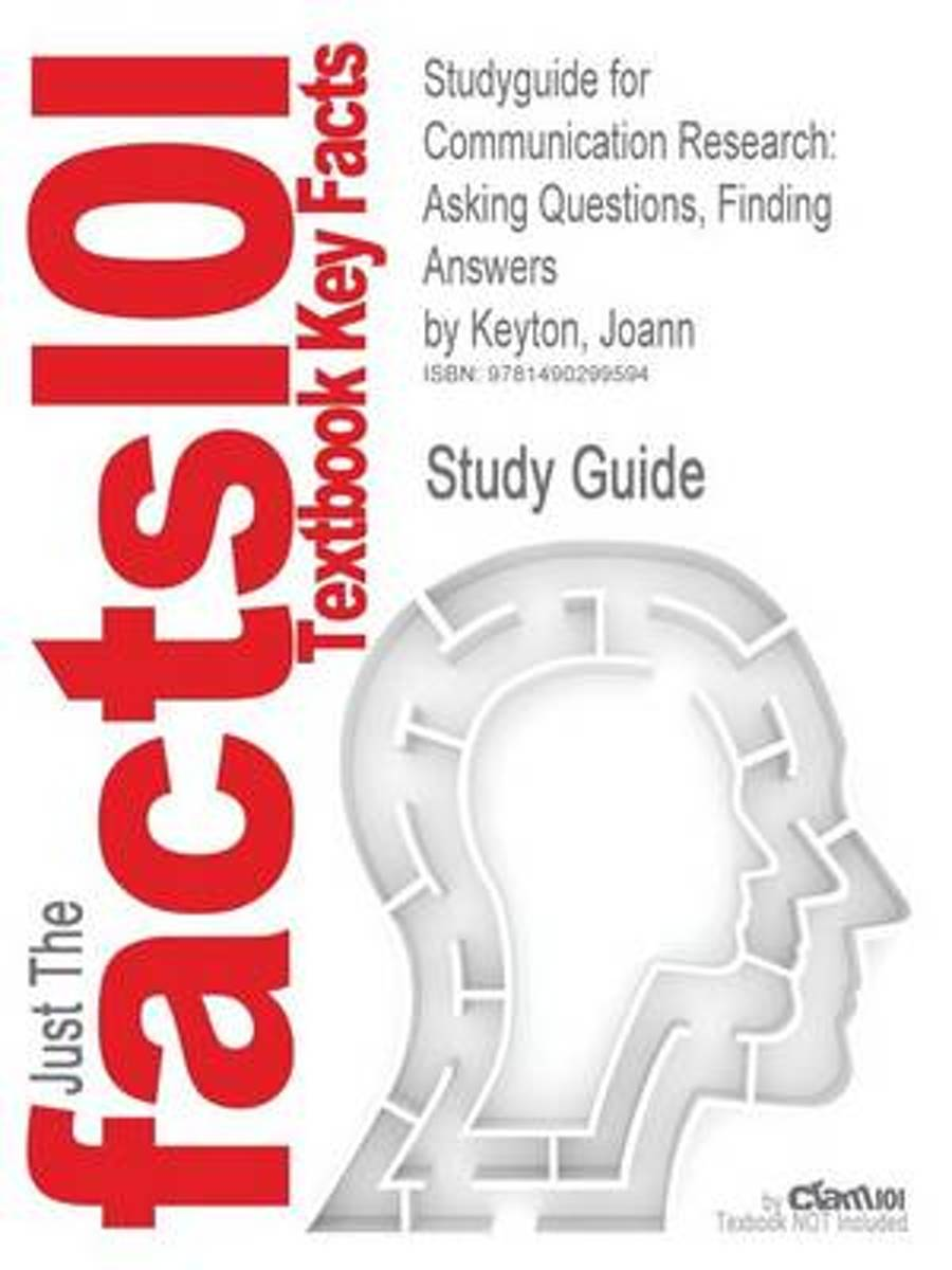 Studyguide for Communication Research