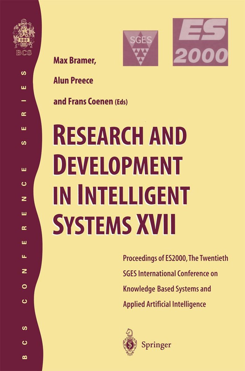 Research and Development in Intelligent Systems XVII