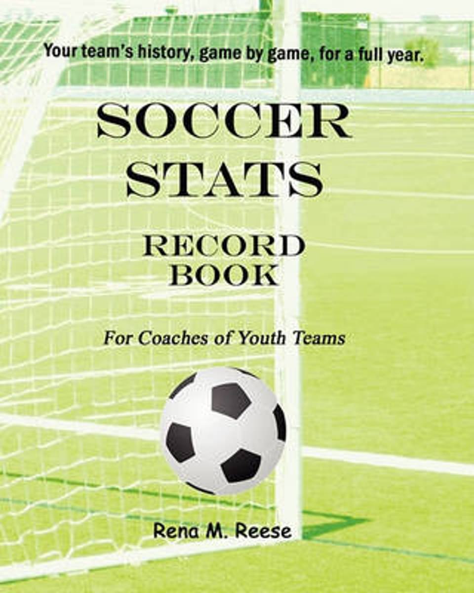 Soccer STATS Record Book for Coaches of Youth Teams