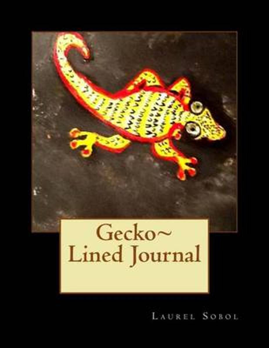 Gecko Lined Journal