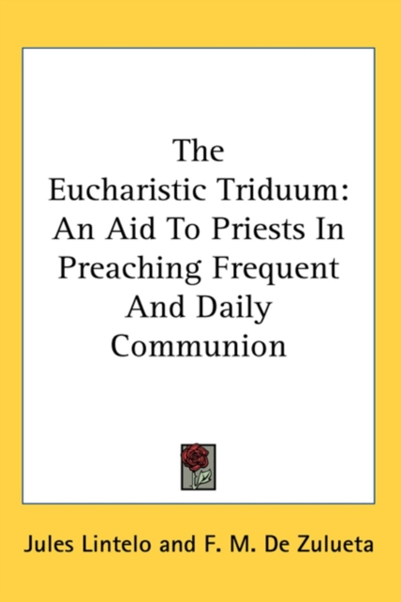 The Eucharistic Triduum