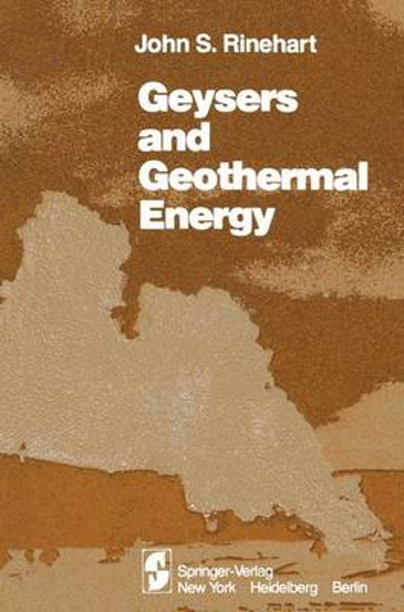 Geusers and Geothermal Energy