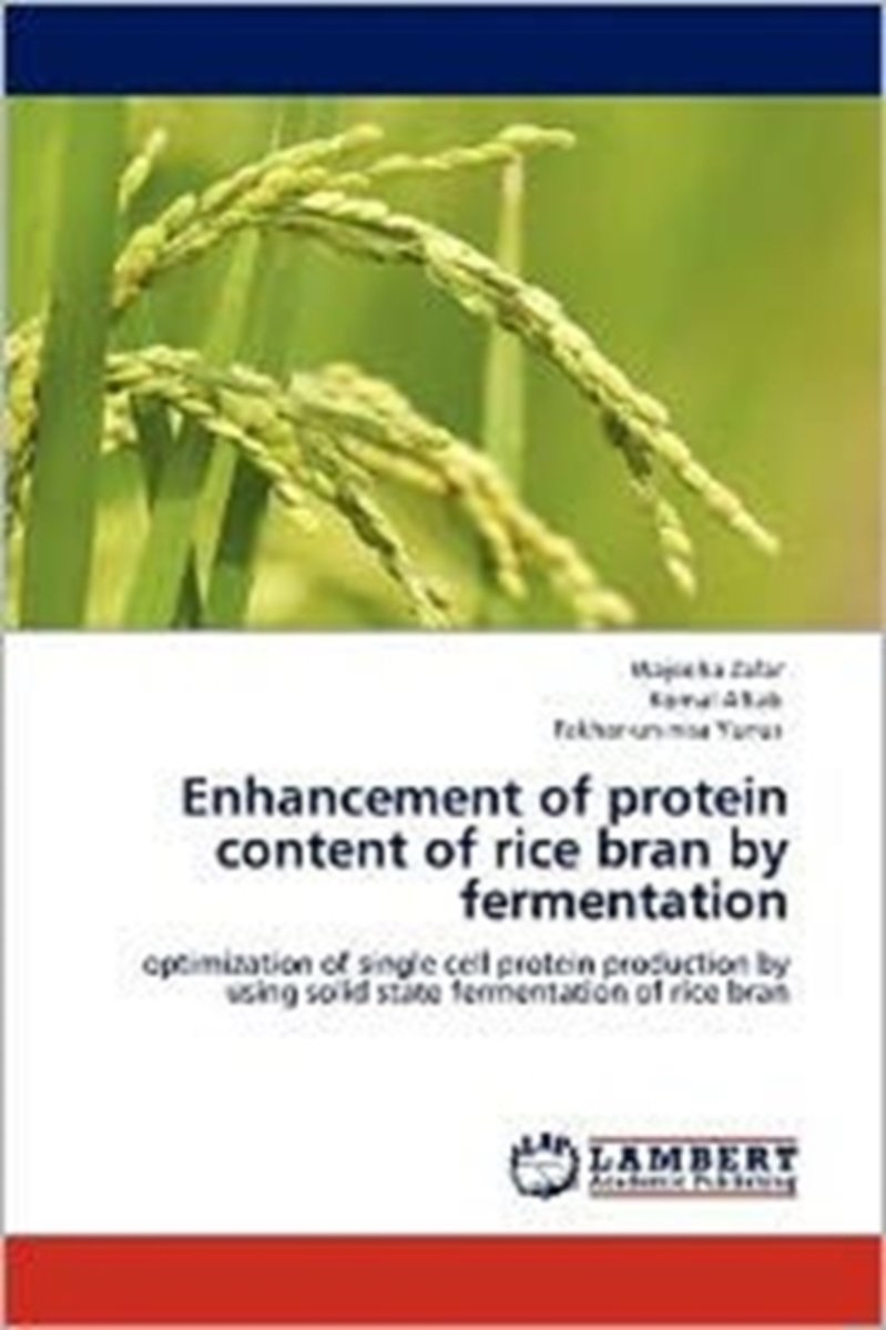 Enhancement of Protein Content of Rice Bran by Fermentation