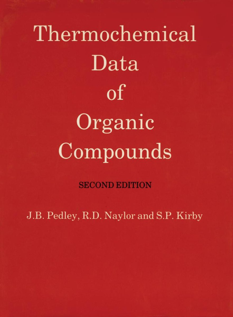 Thermochemical Data of Organic Compounds