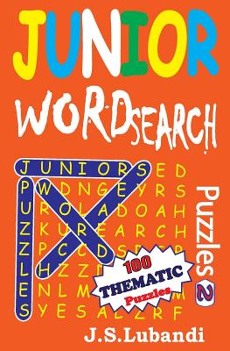 Junior Word Search Puzzles 2