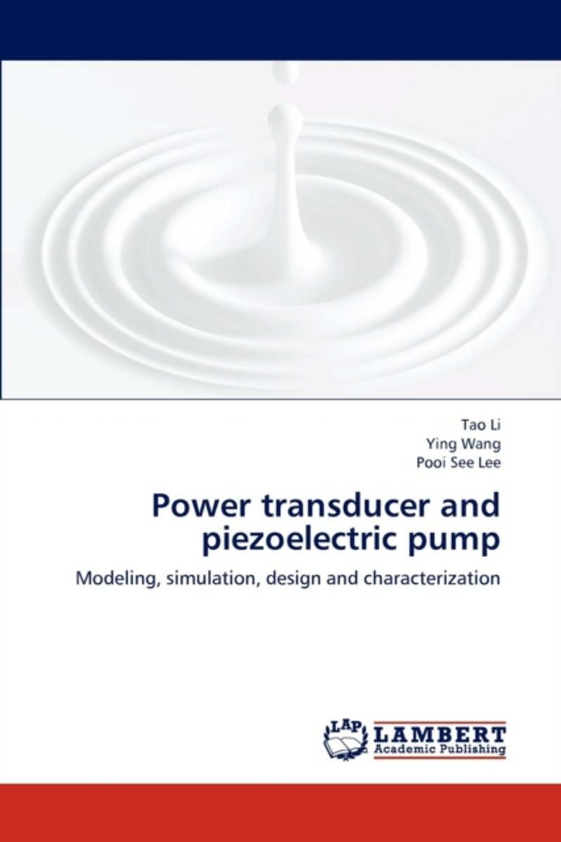 Power Transducer and Piezoelectric Pump