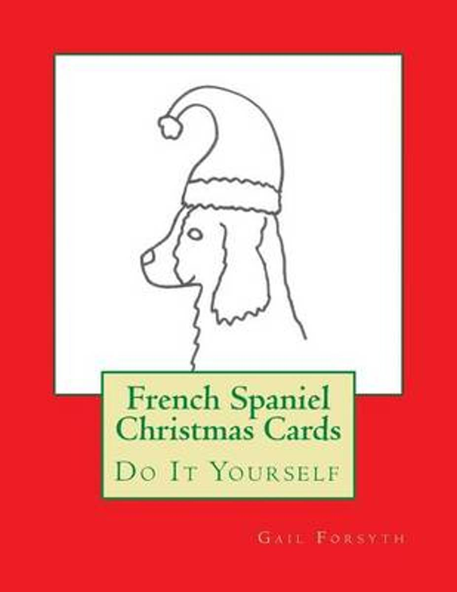 French Spaniel Christmas Cards