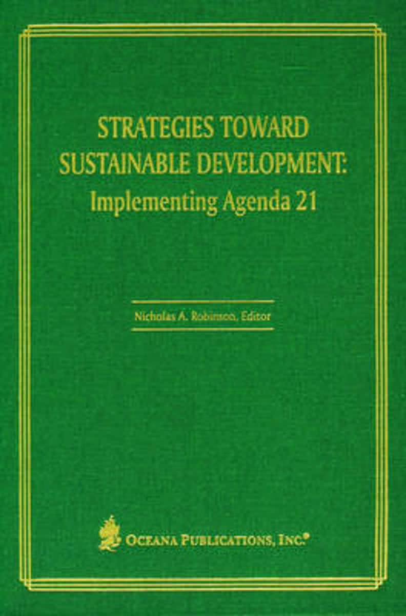 Strategies Toward Sustainable Development