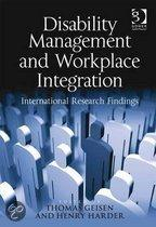 Disability Management and Workplace Integration