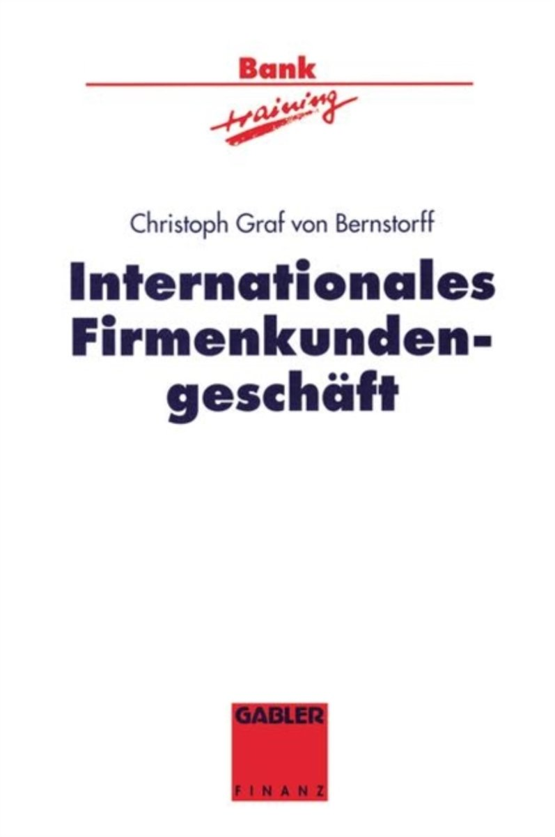 Internationales Firmenkundengeschaft