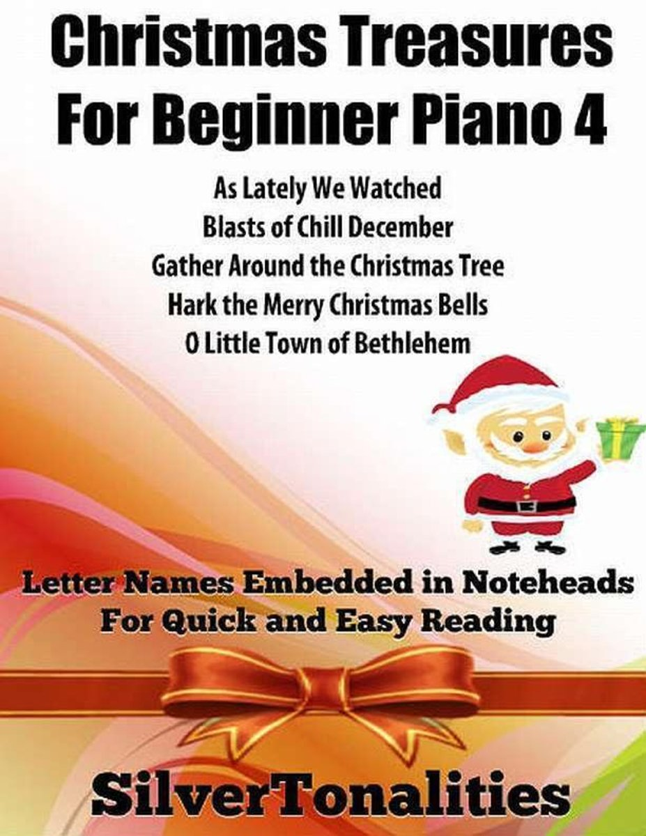 Christmas Treasures for Beginner Piano 4
